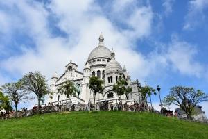 Ismét Párizsban kirándultunk. Most a Montmartre negyedben.