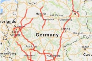 Tehergépkocsikra vonatkozó tilalmak Németországban