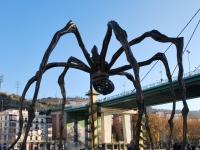 Bilbao_Spanyolország Guggeinheim múzeum