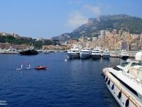 Kikötő Monte Carloban